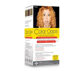 Color Oops Color Oops Hair Color Remover Extra Conditioning  Dark Brown Hairs