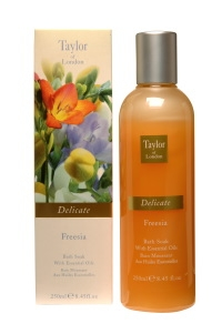 Taylor of London  Delicate Freesia Bath Soak (250 ml)