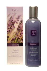 Taylor of London English Lavender Bath Soak (250 ml)