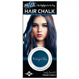 How to highlight hair with splat chalk farleyco marketing inc splat hair chalk highlights midnight blue420 pmusecretfo Image collections