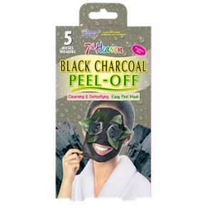 7th Heaven Charcoal Peel Off Masque 5 Pack 7th Heaven