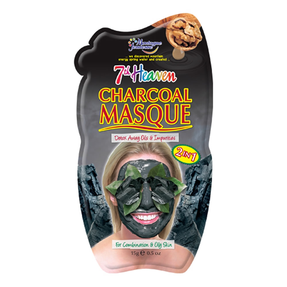 7th Heaven Charcoal Mud Face Mask (Single)