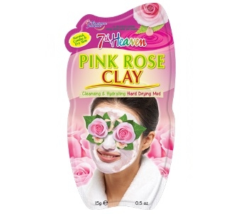 7th Heaven Pink Rose Clay Mask (Single)