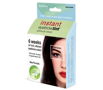 Godefroy Instant Brow Tint Kit (Dark Brown)