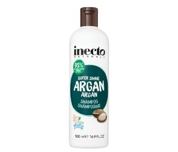 Inecto Naturals Super Shine Argan Shampoo (500ml)