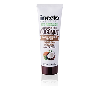 Inecto Naturals Coconut Bath & Shower Cream (250ml)