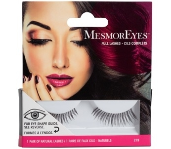 MesmorEyes Full Lashes 219 Black