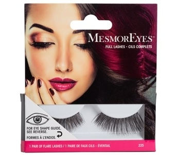 MesmorEyes Full Lashes 225 Black