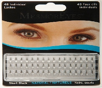 MesmorEyes Individual Lashes Short Black