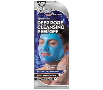 Montagne Jeunesse Men's Deep Pore Cleansing Peel Off Masque