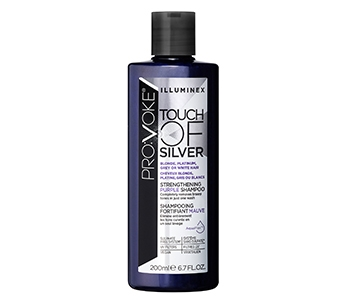 Provoke Illuminex Touch of Silver Strengthening Purple Shampoo 200ml