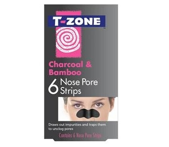 T-Zone Charcoal & Bamboo Nose Pore Strips (6)