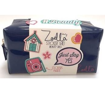 Zoella Beauty Sticker Me! Beauty Bag - Limited Edition