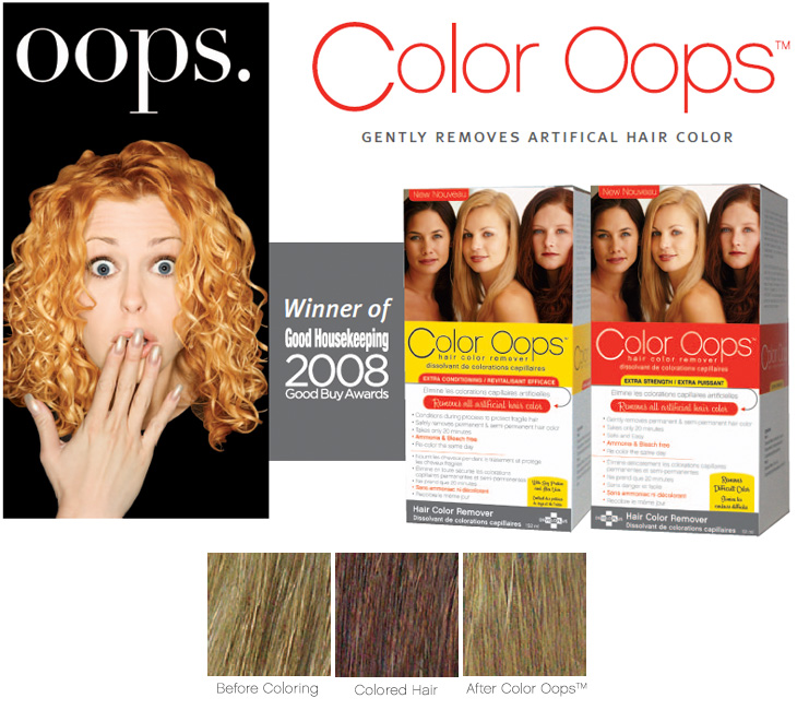 Color Oops How It Works Beauty Tips Farleyco Marketing Inc